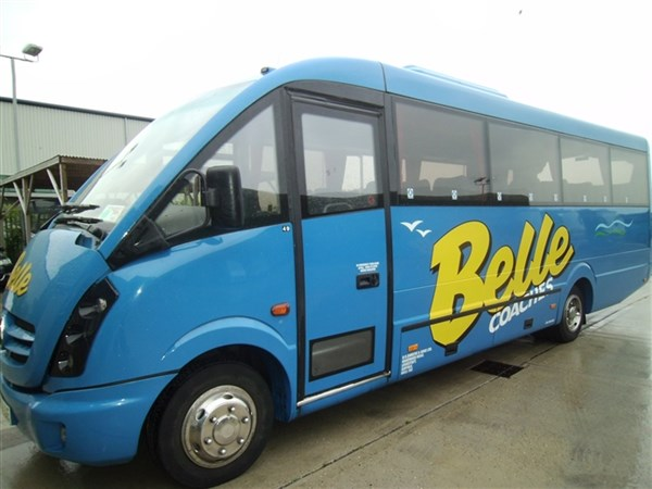 Belle Coaches For Holidays Amp Excursions