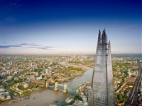 The Shard, London with Fish & Chips